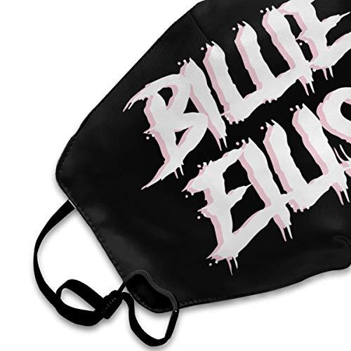 Billie-Eilish-7 Mouth Mask,Anti Dust Face Mask,Washable Reusable Mouth Cover Masks White