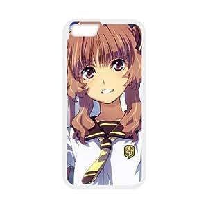 Anime Girl Young Street iPhone Verano 6 4.7 pulgadas del teléfono celular funda blanca del teléfono celular Funda Cubierta EOKXLKNBC01116