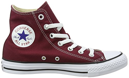 Canvas Uppers All Sneakers star Taylor Chuck Red Color Style Casual Unisex maroon Durable High In top Converse And Classic SwZqgnxa