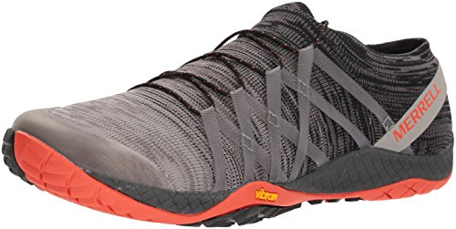 Merrell Men's Trail Glove 4 Knit Sneaker, Charcoal, 8 M US ()