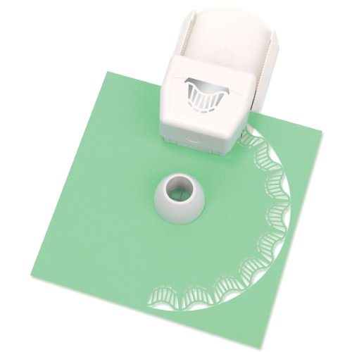 (Martha Stewart Crafts Circle Edge Paper Punch, Wavy Stripe)