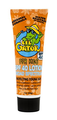 Lil' Gator SPF 40 Water Resistant Lotion for Kids, 1 Ounce