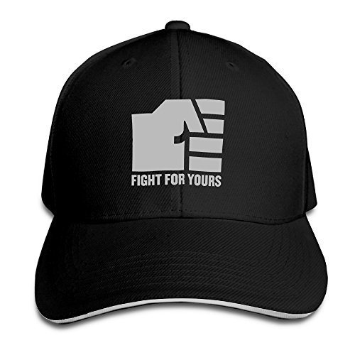UFC Fight For Yours Adjustable Unisex Hats Trucker Cap Sanwich Bill - Trucker Couture Hat