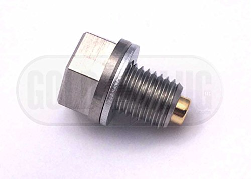Gold Plug MP-01 Stainless Steel Magnetic Drain Plug