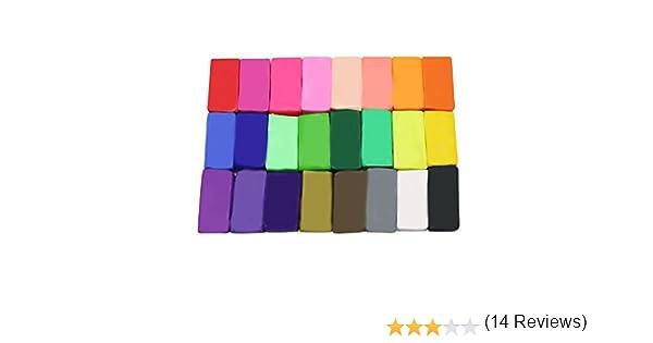 Katomi 24 colores Paquete para hornear del horno la arcilla del ...