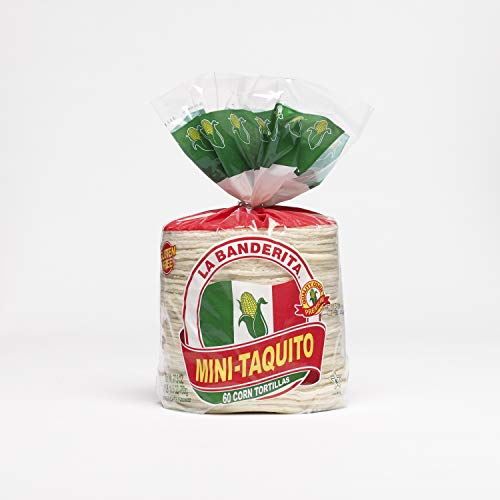 La Banderita Mini Taco Corn Tortillas | 4