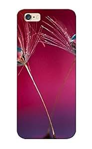 Podiumjiwrp Faddish Phone Dew Drops On Dandelion Case For Iphone 6 Plus / Perfect Case Cover