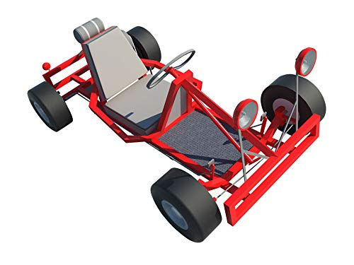 Go Kart Plans DIY Racing Vehicle Wheel Rider Outdoor Sports Build Your Own (Racing Horizontal Engines)