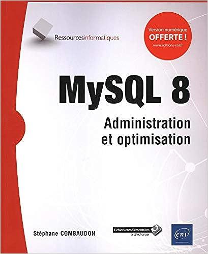 Livre MySQL 8