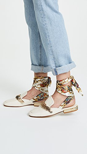 Ash Womens Elite Wrap Mules Ivoor