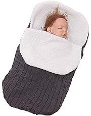 BaronHong Baby Swaddle Blanket Wrap Baby Sleeping Bag Kids Toddler Knit Blanket for 0-12 Month