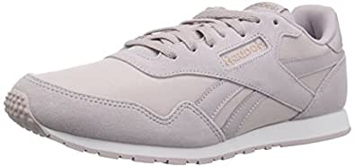 Reebok Women's Royal Ultra Walking Shoe, Lavender Luck/Rose Gold/w, 5.5 M US