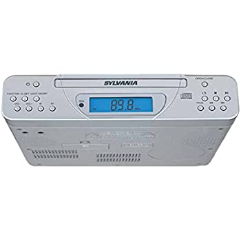 kitchen cd radio under cabinet sony icfcdk50 cabinet kitchen cd clock 21500