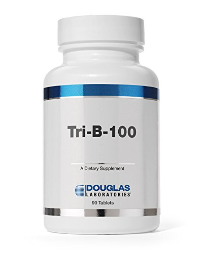 - Douglas Laboratories - Tri-B-100 - Timed Release B Vitamins Supplement - 90 Tablets