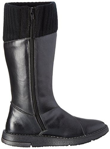 Camel Active Ladies Balance 72 Long Boots Black (nero 11)