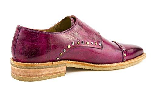MELVIN & HAMILTON Herren Jordan 1 Halbschuhe Slipper Pink Lila Gr. 42