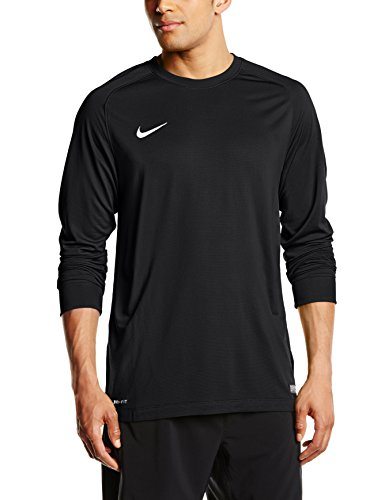 Nike Goalie Jersey (Nike Long Sleeve Youth Park Goalie II Soccer Goalkeeper Jersey (Youth Large) Black)