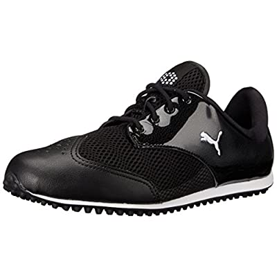 PUMA Women's SUMMERCAT Golf Shoe, Black/White, 6.5 M US | Golf