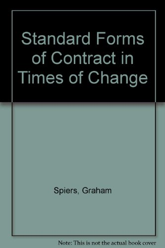 standard-forms-of-contract-in-times-of-change