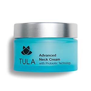 TULA Probiotic Skin Care Advanced Neck Cream, 1.7 oz. – Best for Firming Sagging Skin and Smoothing Fine Lines and Wrinkles