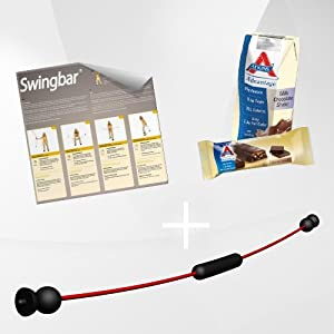 Swing Stick mit 2 Schwierigkeitsstufen, Made in Germany inkl. DVD Fatburner...