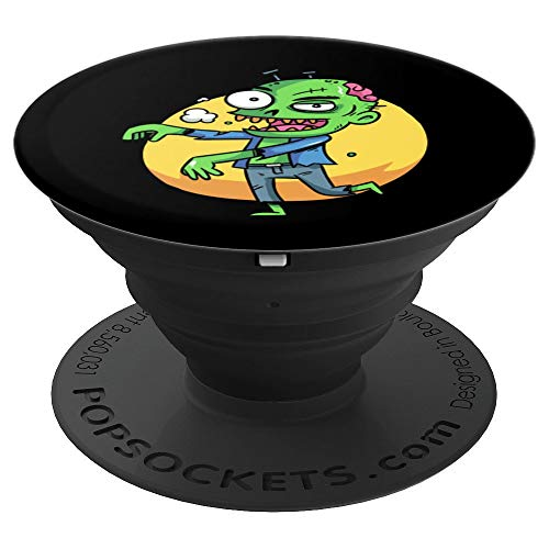 Halloween Zombie T-Shirt Toon Squad - PopSockets Grip