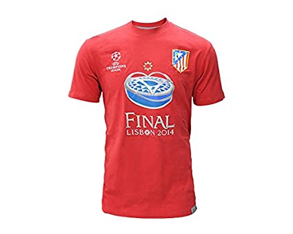 18b1d7732cf42 Camiseta Final Champions Atlético de Madrid  Amazon.es  Deportes y ...