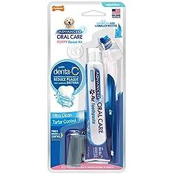 Nylabone NPD201P Kit Dental para Cachorro con Dedal