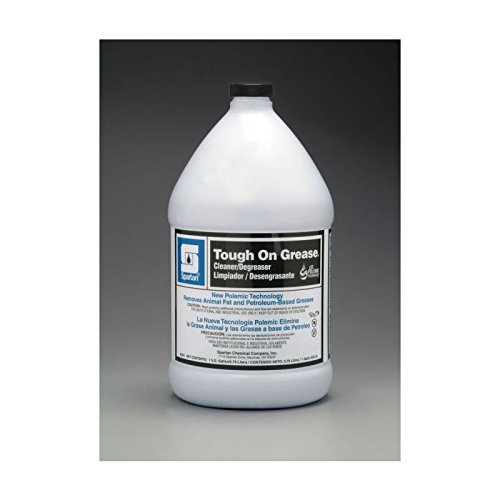 Spartan Tough on Grease Industrial Cleaner/Degreaser, Gallons,4 Per Case