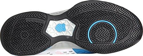 K-Swiss Bigshot Light - Zapatillas para hombre Blanco/Azul/Rojo