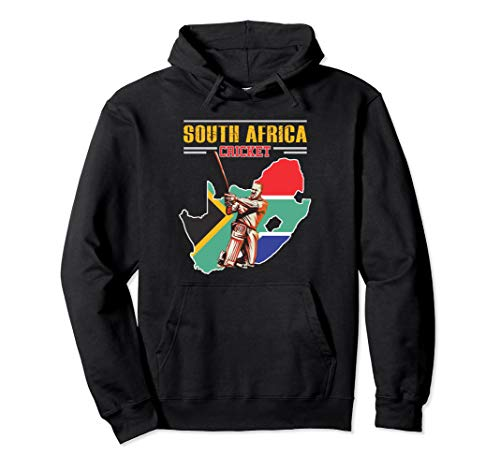 South African Batsman Shirt - South-Africa Cricket Cup Fan Pullover Hoodie (Best South African Cricketers)