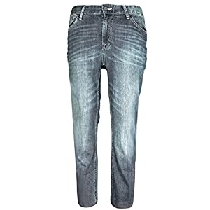 Calvin Klein Men's Straight Basic Denim – Silver Bullet