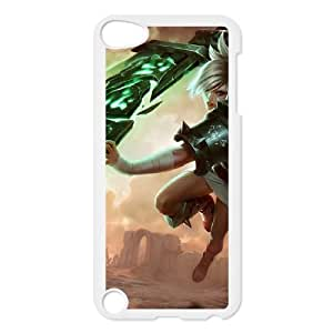 League Of Legends Riven ipod Touch 5 Case White Phone Accessories JV229441