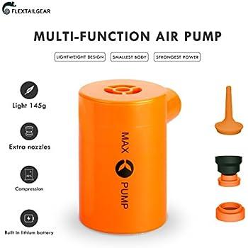 Amazon Com Max Pump Usb Rechargeable Inflatable Bed Pump