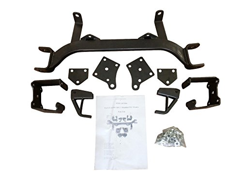 6'' Drop Axle Lift Kits for EZGO Golf Cart 1994-2001.5 Electric TXT Model by Steeleng