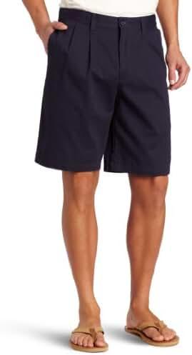 Dockers Men's Perfect Short D3 Classic-Fit Pleated Short