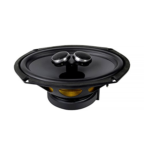 HiVi - CF269 - High Performance Car Audio Driver - Waterproof - Coaxial Speakers - High Resolution Sound - 6'' by 9'' Midrange Woofer - All-in-one Car Loudspeaker - 60W RMS (Woofer Mid 6)