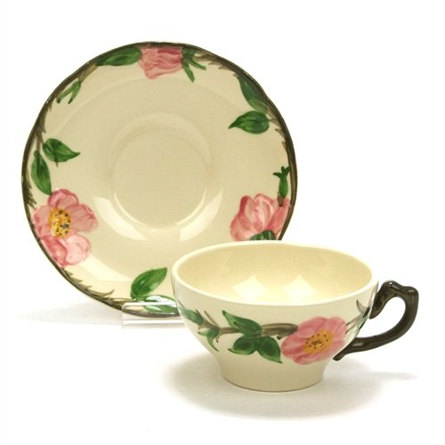(Desert Rose by Franciscan, China Cup & Saucer)
