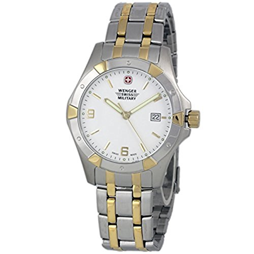 Wenger 79237 Swiss Made Men's Analog Round Watch Steel Bracelet