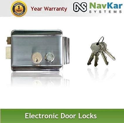 NAVKAR Electronic Door Lock with Video Door Phone Support