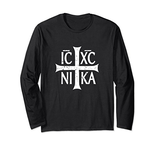 Christogram Symbol IC XC NIKA Jesus Christ Conquers T-Shirt