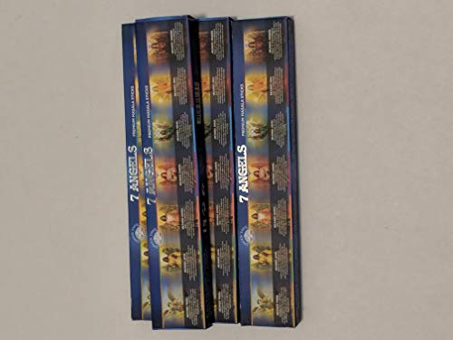 7 Angels Incense Sticks by Green Tree (Multi Pack) (4 Packs (48 -