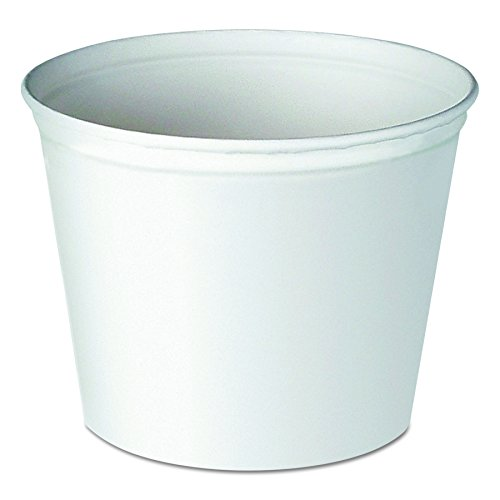 Paper Food Buckets (SOLO 5T1-N0195 Unwaxed Double-Wrapped Paper Bucket, 83 oz. Capacity, 5.9