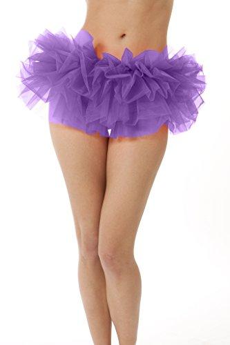 Adult Tutu Skirt, by BellaSous. Perfect as a Halloween Costume, Princess tutu, Ballet tutu, Adult Dance Skirt, or as a Petticoat Skirt. Plus size tutu available. Plus Size - Purple (Tutu Skirts Adults)