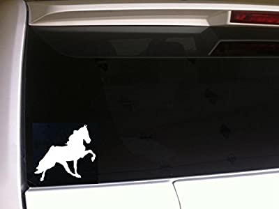 "Tennessee Walking Horse Silhouette 6"" Vinyl Sticker Decal *F64 Horses Wall Car Laptop Tack"