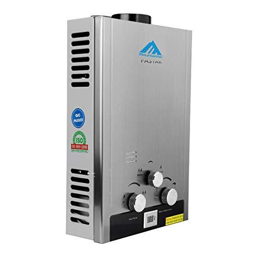 Ridgeyard Digital Display Natural Gas Tankless Instant Hot Water Heater