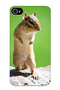 Crazinesswith Protection Case for iphone 4/4s / Case Cover For Christmas Day Gift(chipmunk)