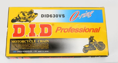 Daido 630 V Professional O-Ring Series Chain - 98 Links , Chain Type: 630, Chain Length: 98, Color: Natural, Chain Application: All XF