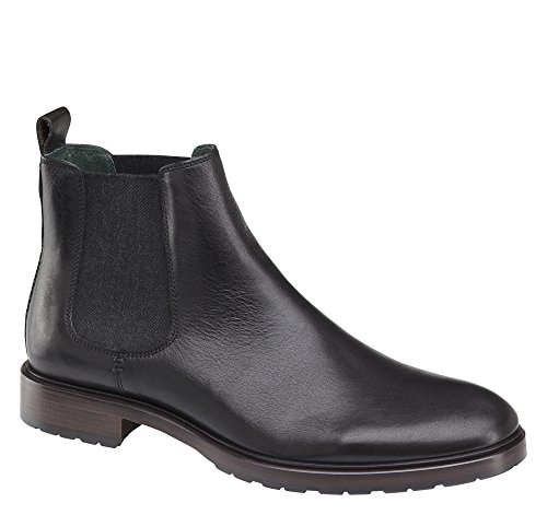 Johnston & Murphy Hombres Myles Chelsea Bota Size Us 13 M Black Style # 27-1501