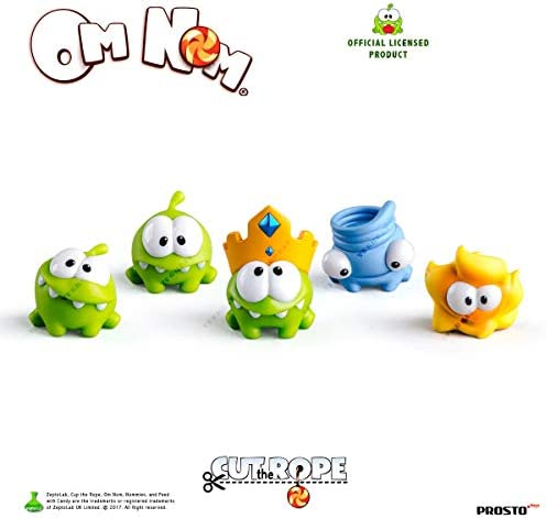 Amazon.com: Cortar la juguetes de cuerda om-mom playset-set ...